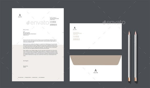 11+ Business Envelope Templates Doc, Pdf, Psd, Indesign Pertaining To Business Card Letterhead Envelope Template
