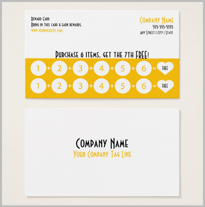 13+ Restaurant Punch Card Designs & Templates Psd, Ai Inside Frequent Diner Card Template