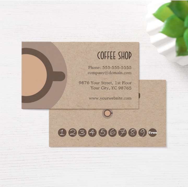 13+ Restaurant Punch Card Designs & Templates Psd, Ai Pertaining To Quality Frequent Diner Card Template