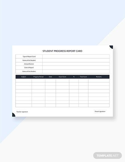 18+ Free Report Card Templates Google Docs   Template With Fake Report Card Template