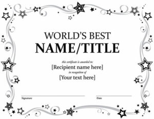 20 Best Free Microsoft Word Certificate Templates (Downloads Throughout Free Certificate Templates For Word 2007