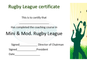 25 Masterpiece Rugby Certificates Templates Free Download Throughout Rugby League Certificate Templates