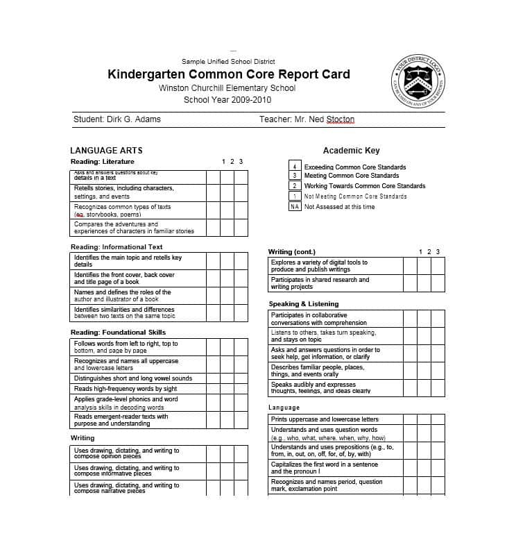 26 Best A Report Card Template Psd File With A Report Card With Regard To Best Fake Report Card Template