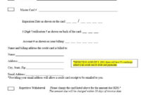 27+ Credit Card Authorization Form Template Download (Pdf Pertaining To Professional Credit Card Authorization Form Template Word