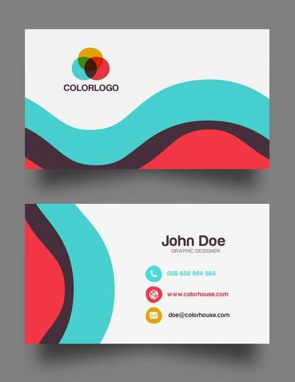 30 Free Business Card Psd Templates & Mockups | Free With Best Templates For Visiting Cards Free Downloads