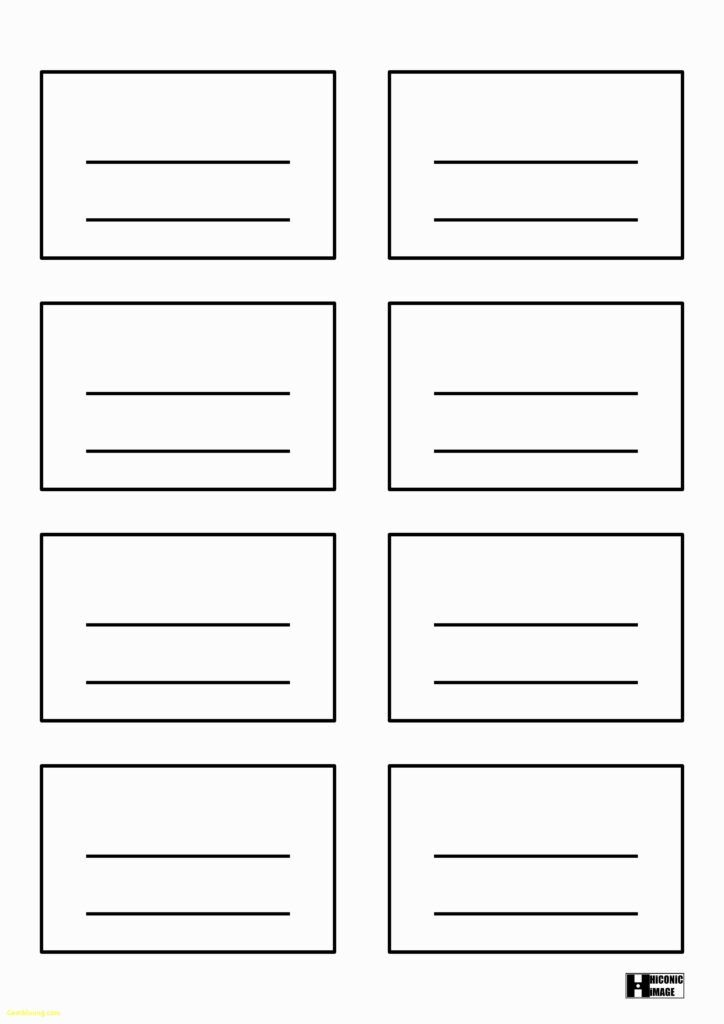 34 Visiting Microsoft 4X6 Index Card Template For Ms Word With Quality 4X6 Note Card Template