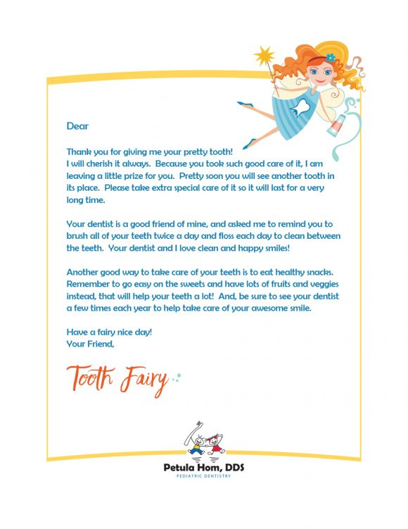 37 Tooth Fairy Certificates & Letter Templates Printable In Tooth Fairy Certificate Template Free