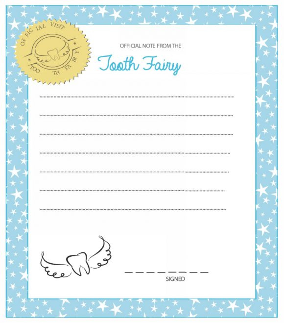 37 Tooth Fairy Certificates & Letter Templates Printable With Regard To Printable Tooth Fairy Certificate Template Free