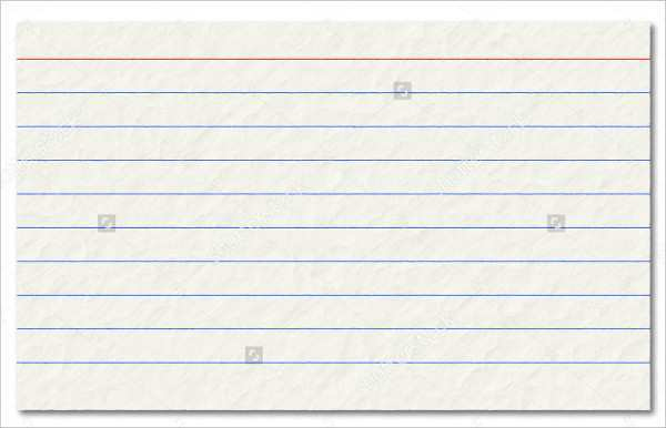 39 Online 4X6 Ruled Index Card Template Now With 4X6 Ruled Regarding Quality 4X6 Note Card Template
