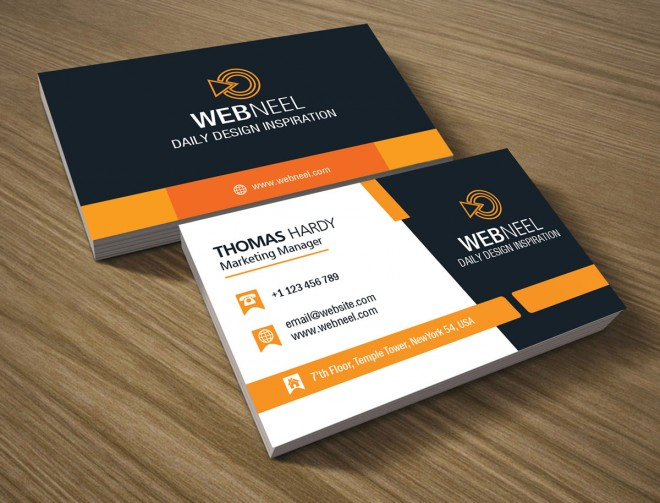40 Professional Free Business Card Templates With Source For Professional Professional Business Card Templates Free Download