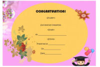 5Th Grade Graduation Certificate Template : 24+ Printable For 5Th Grade Graduation Certificate Template