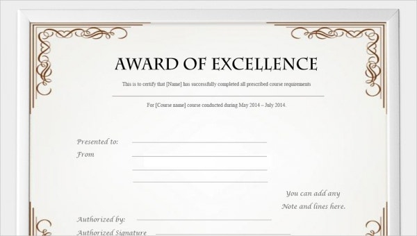 99+ Free Printable Certificate Template Examples In Pdf Intended For Free Free Template For Certificate Of Recognition