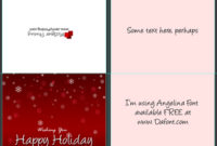 A2 Size Half Fold Greeting Card Cover Actions | Cover Throughout Quality A2 Card Template