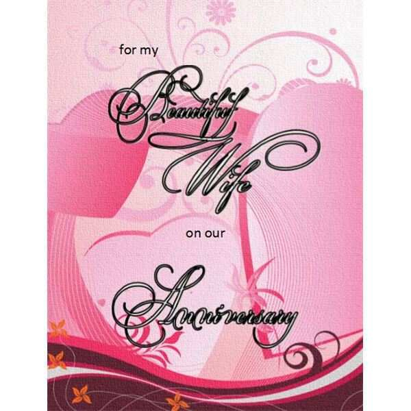 Anniversary Card Template For Word Cards Design Templates Inside Anniversary Card Template Word