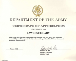 Army Certificate Of Completion Template Unique Army Certific Intended For Best Army Certificate Of Appreciation Template