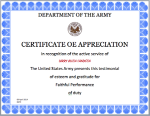 Army Certificate Template Microsoft Word Templates Within Best Army Certificate Of Appreciation Template