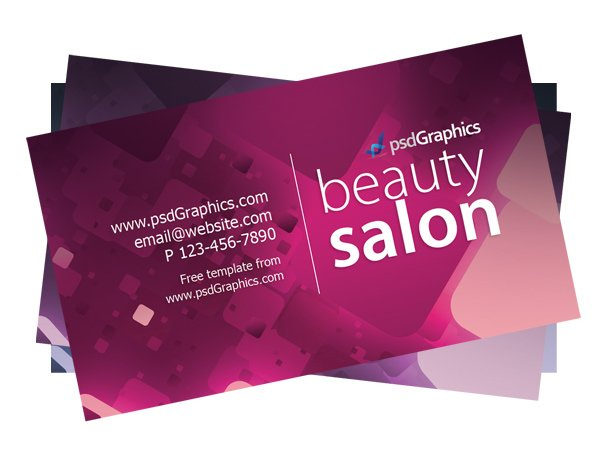 Beauty Salon Business Card Template Psd Free Download Throughout 11+ Hair Salon Business Card Template