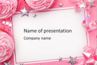 Birthday Greeting Card Powerpoint Template & Infographics Slides In Quality Greeting Card Template Powerpoint
