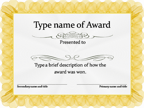 Blank Certificate Templates Free Download In 2020 | Award With Regard To Free Template For Certificate Of Recognition