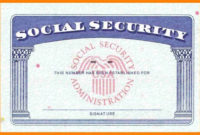Blank Social Security Card Template Download Blank Social Pertaining To 11+ Social Security Card Template Download