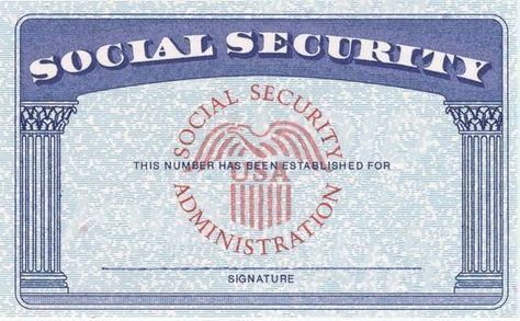 Blank Social Security Card Template Download Psd+Ssn+ For Free Blank Social Security Card Template Download