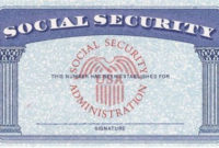Blank Social Security Card Template Download Psd+Ssn+ Regarding Social Security Card Template Download