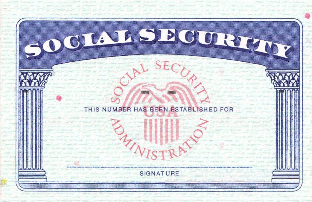 Blank Social Security Card Template Download Social Security Pertaining To Blank Social Security Card Template Download