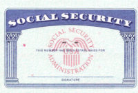Blank Social Security Card Template Download Social Security With Regard To Social Security Card Template Download