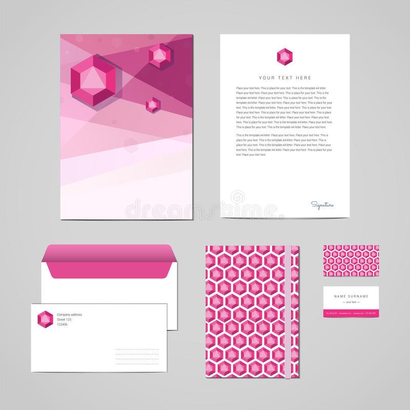 Business Card Envelope Letterhead Stock Illustrations In Business Card Letterhead Envelope Template