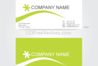 Business Card Template Illustrator For Free Visiting Card Illustrator Templates Download