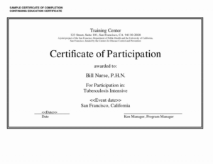 Certificate Of Accomplishment Template Free Unique Throughout Quality Continuing Education Certificate Template