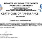 Certificate Of Appearance Template In 2020 | Certificate With Certificate Of Appearance Template