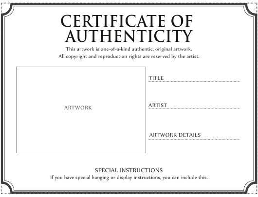 Certificate Of Authenticity Template Download Printable Pdf With Regard To Certificate Of Authenticity Template