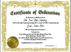 Certificate Of Ordination Template (2) Templates Example For Professional Certificate Of Ordination Template