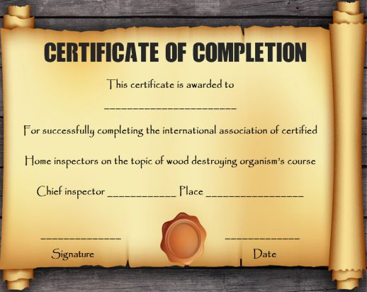 Certificate Scroll Template (5) Templates Example With 11+ Certificate Scroll Template