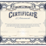Certificate Template For Pages (6) | Professional Templates Regarding Certificate Template For Pages