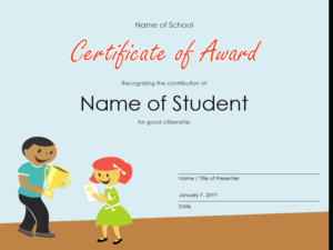 Certificates Office Pertaining To Best Small Certificate Template