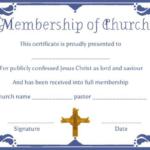 Christian Certificate Template (12) Templates Example With Christian Certificate Template