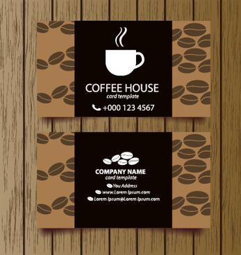 Coffee Shop Business Card Free Vector Download (27,612 Free Intended For Best Coffee Business Card Template Free