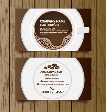 Coffee Shop Business Card Free Vector Download (27,612 Free Pertaining To Best Coffee Business Card Template Free