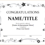 Congratulation Certificate Template For Word   Document Hub Pertaining To Printable Congratulations Certificate Word Template