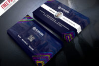 Creative Business Card Template Free Psd | Psdfreebies With Regard To Quality Calling Card Template Psd