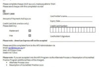Credit Card Authorization Form – Printable Template All Pertaining To Credit Card Authorization Form Template Word