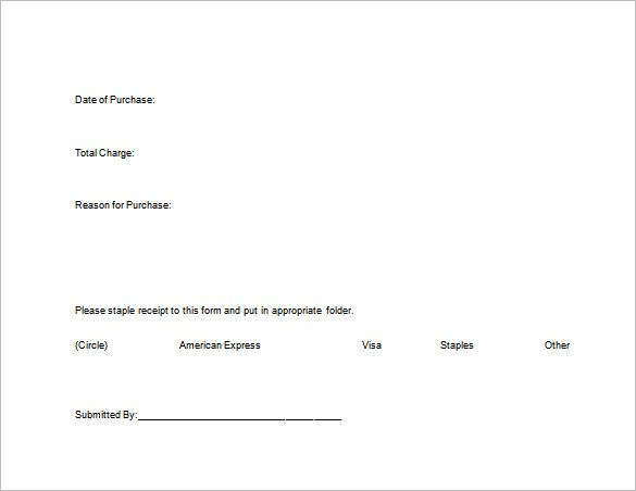 Credit Card Receipt Template , Receipt Template Doc For Word Within Credit Card Receipt Template