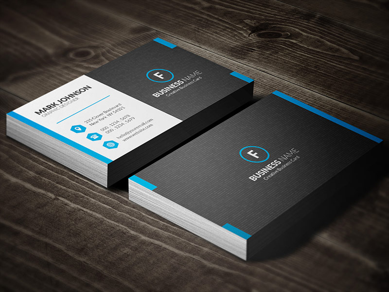 Dark Mosaic Professional Business Card Template » Free For Professional Professional Business Card Templates Free Download