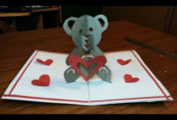 Diy How To Make A Teddy Bear Pop Up Card |Paper Crafts Intended For Free Teddy Bear Pop Up Card Template Free