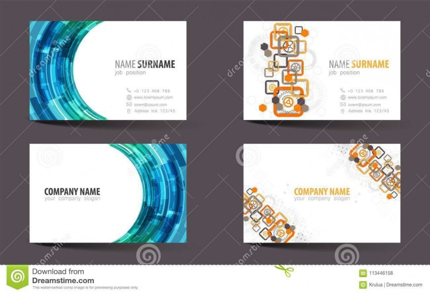 Double Sided Business Card Templates ~ Addictionary Throughout Free 2 Sided Business Card Template Word