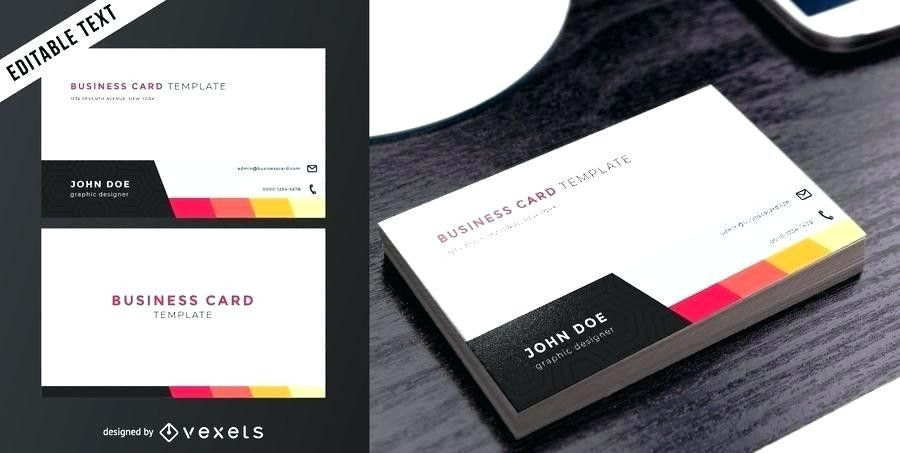 Double Sided Business Cards Template Word Template Word Two Within 2 Sided Business Card Template Word