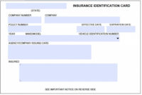 Download Auto Insurance Card Template In 2020   Insurance Regarding Proof Of Insurance Card Template