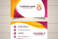 Download Business Card Template For Free | Free Business Regarding Professional Business Card Templates Free Download